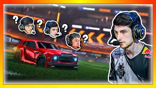 Rocket league pros guess which player they are: Who is the smartest?