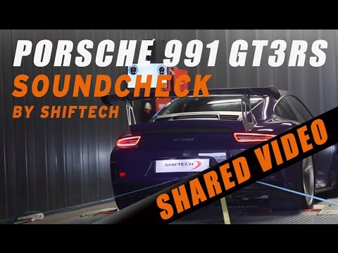 Porsche 991 GT3 RS by ShifTech software tuning - IPE full exhaust