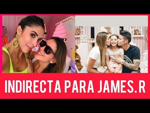 Indirectazo de Daniela ospina a james Rodriguez en plena celebracion del cumpleaños de su hija.