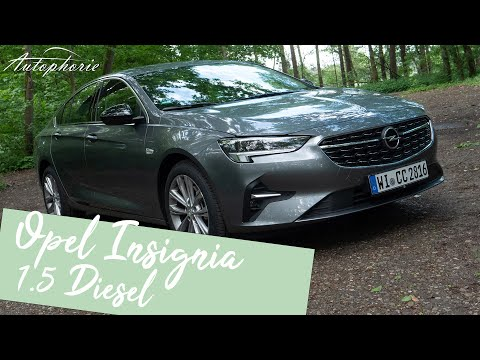 Was kann der neue 3-Zylinder-Diesel? Opel Insignia 1.5 Diesel (122 PS) [4K] - Autophorie