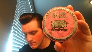 Reuzel Pink (Heavy) Review