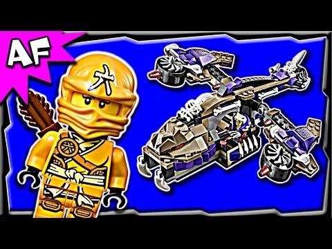 Vidéo LEGO Ninjago 70746 : L'hélicoptère de Condrai