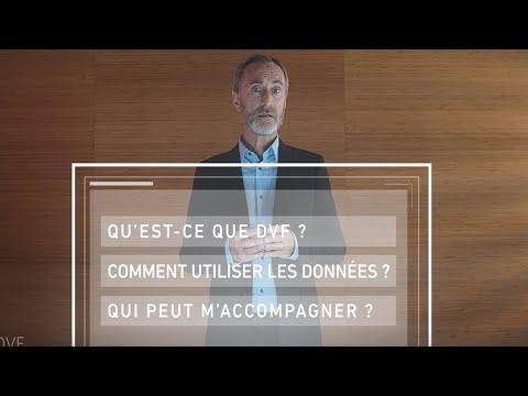 Vidéo e-learning Données DVF