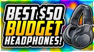 🎧 TOP 5 BEST BUDGET HEADPHONES UNDER $50 IN 2018! BEST BUDGET HEADPHONES FOR YOUTUBERS! 🎧