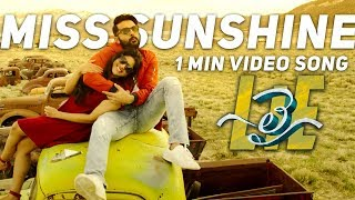 'Miss Sunshine' 1Min Video Song from 'LIE' movie