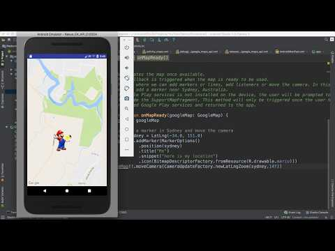 53- Android Pokemon || Add Marker- عرض صورة الاعب على الخريطة