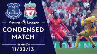 Premier League Classics: Everton v. Liverpool | CONDENSED MATCH | 11/23/13 | NBC SPORTS