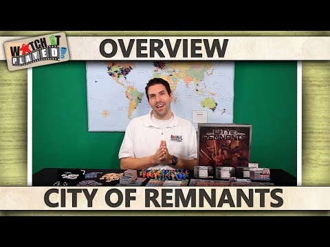 City Of Remnants - Contents and Gameplay Overview