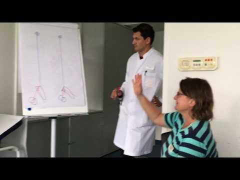 Korsett mit Osteochondrose