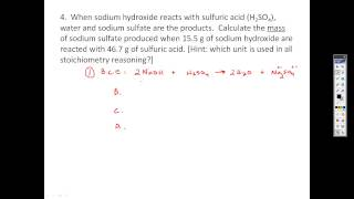 Stoichiometry Practice Problems   Limiting Reagents