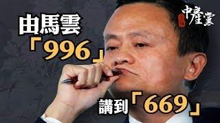 【3個中產黨】由馬雲「996」講到「669」