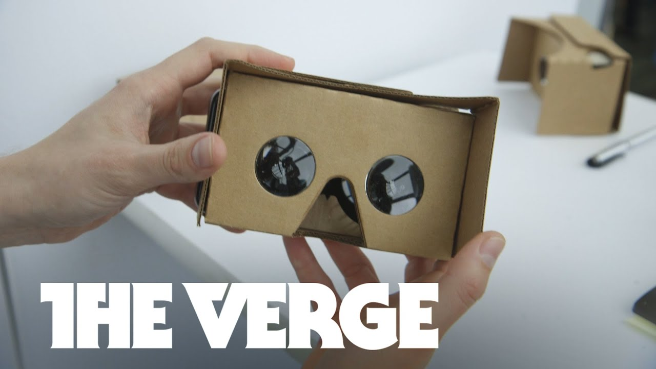 Hands-on with Google's new Cardboard VR - Google I/0 2015 thumbnail