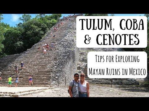 Tulum, Coba & Cenotes | Exploring Mayan Ruins in Mexico