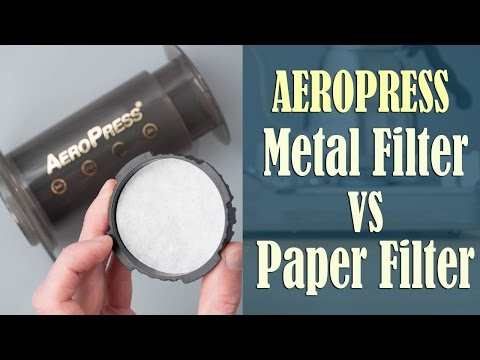 Aeropress Coffee: Paper Paper vs Metal Pros & Cons You Need to Know