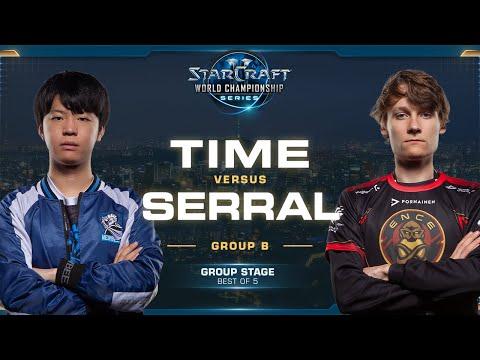 TIME vs Serral TvZ  - Group B Winners - 2019 WCS Global Finals - StarCraft II