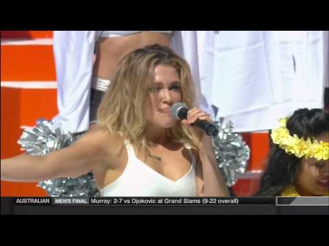 Rachel Platten - Fight Song (Pro Bowl 2016)
