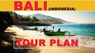 Bali Tour Plan