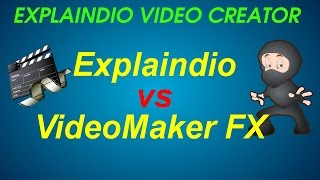 Explaindio Video Creator vs Video Maker FX - Animation Video Creation