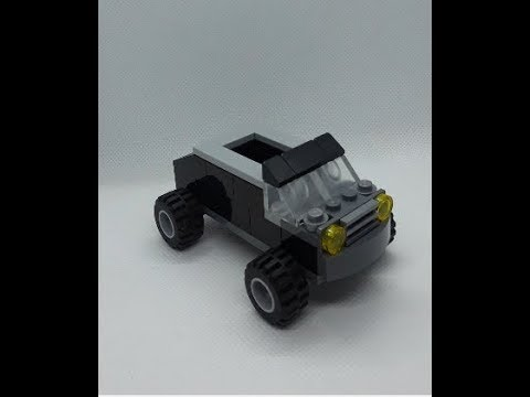 Lego Garbage Truck Building Instructions - Lego Classic