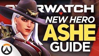 ASHE New HERO Gameplay! All Abilities & Release Date Breakdown Guide