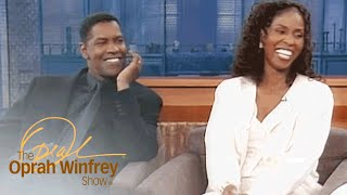 How Denzel Washingtons Wife Knew They Were Meant To Be | The Oprah Winfrey Show | OWN