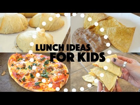 Video Lunch Ideas For Kids!!