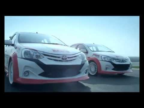 Toyota India - Etios Motor Racing