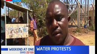 Residents of Gatundu in Thika are protesting against what they term as high levels of fluoride