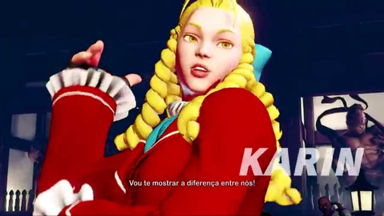 Street Fighter V: Apresentando Karin e a Capcom Fighters Network