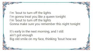 Charlie Wilson - Turn Off the Lights Lyrics