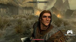 Skyrim blind play through ep1 (sorry for the fps drop-working on it)