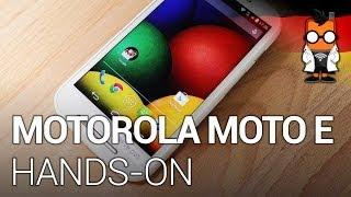 Motorola Moto E Einsteiger-Smartphone im Hands-on [DEUTSCH]