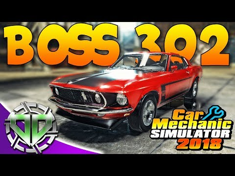 Download Car Mechanic Simulator 2018 : 1969 Ford Mustang Boss 302! (PC) HD Mp4 3GP Video and MP3