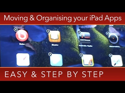 iPad How To: Moving & Organising iPad Apps