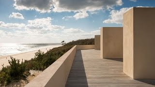 John Pawson Aligns Stucco Montauk House With Views Of The Atlantic Ocean