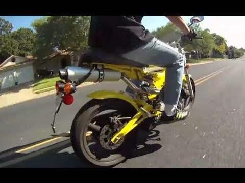 Yellow Sachs MadAss 125