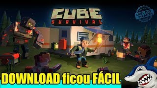 COMO BAIXAR CUBE SURVIVAL - MINECRAFT+LAST DAY