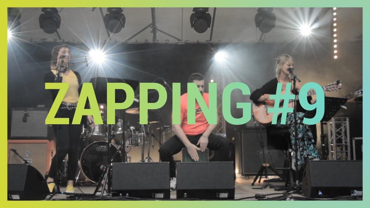 Le Zapping du mois de mai 2019 ! Découvrez l'activité Des Lendemains Qui Chantent avec un regard décalé. Avec : GIMMICK, Balad'OC, Moussu T é Blu, ...