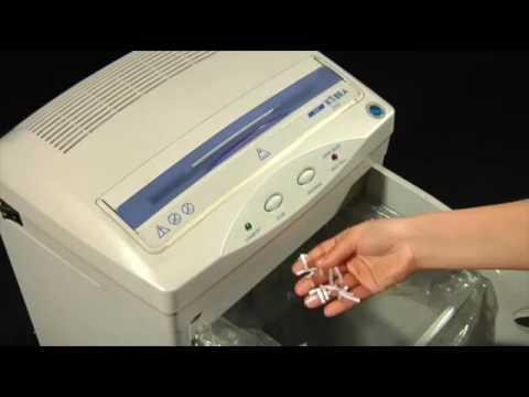 Video of the KOBRA 300 CC2 Shredder