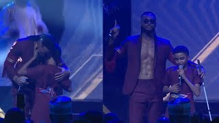 Flavour Brings 12 Year Old Blind Boy On Stage Performs 'Most High' Together