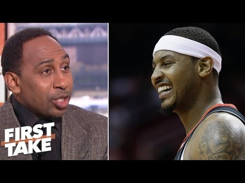 Download Stephen A: Carmelo Anthony is being scapegoated | First Take HD Mp4 3GP Video and MP3