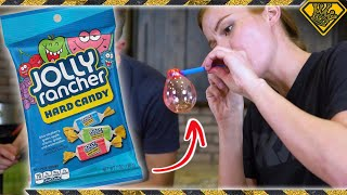 Learn Glass Blowing With Jolly Ranchers!