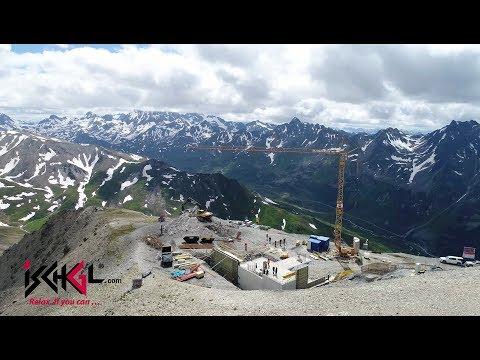 Bauarbeiten Gampenbahn und Restaurant Gampenalpe, Juni + Juli 2018 in Ischgl