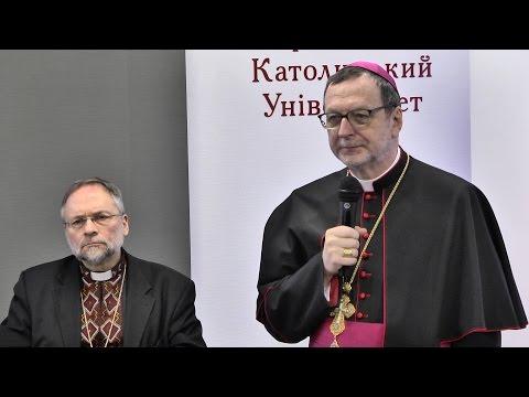 Вітальне слово Архиєпископа Клаудіо на круглому столі «Патріарх Йосиф Сліпий: знаний та незнаний»