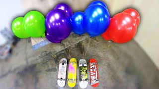 Crazy Helium Balloons Game of Skate | Stupid Skate Ep 115