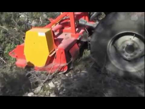 TRINCIATUTTO UNIVERSALE A PICCHI - ALL MULCHER - TRX CRUSHING TECH