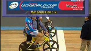 Ruban Sergey vs Bаuge Gregory Sprint Finals. World Cup Moscow