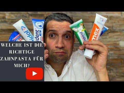 Welche ist die richtige Zahnpasta für mich?