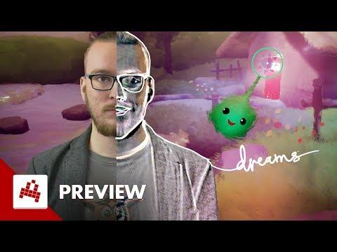 Podruhé ve DREAMS na PS4 s dechberoucími nástroji
