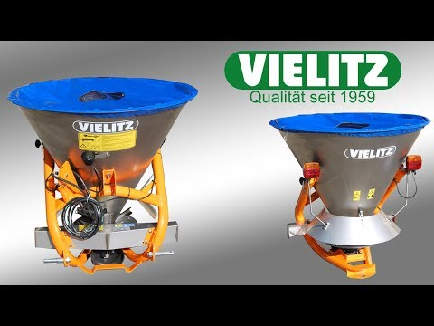 PTO drive Salt Spreader / Fertilizer Spreader SE Produktivdeo